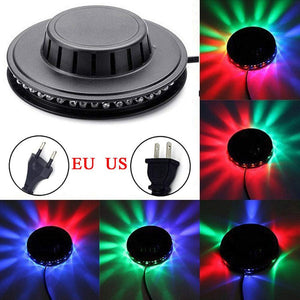 Mini 48 LEDs 8W RGB Sunflower Laser Projector Lighting Disco Stage Light