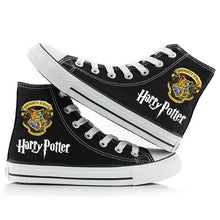 Load image into Gallery viewer, Harry Potter Women Men Sneakers Canvas  Black Color