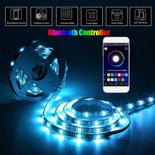 Load image into Gallery viewer, 5V USB SMD5050 Kitchen Light LED lampa Home Closet Under Cabinet Light luces Led Lighting Night Lamps RGB Bluetooth Controller