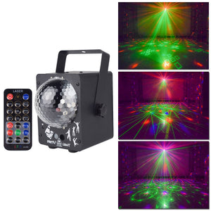 Disco Laser Light RGB Projector Party Lights DJ Lighting Effect