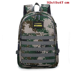 Backpack Game Playerunknown's Battlegrounds PUBG Cosplay Level 3 Instructor Backpack Outdoor Multi-functional Large Capacity