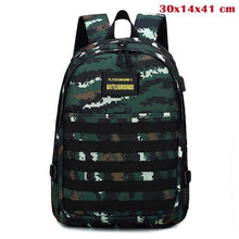 Load image into Gallery viewer, Backpack Game Playerunknown's Battlegrounds PUBG Cosplay Level 3 Instructor Backpack Outdoor Multi-functional Large Capacity