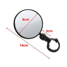 Load image into Gallery viewer, Bike Rear Mirrors 360 Degree Rotation Bicycle Rearview Mirrors Suitable For Mountain Road Bike MTB Handlebar 15mm - 35mm