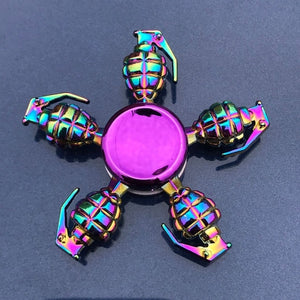 Finger Spinner Office Anxiety Relief Stress Fidget Gyro Flower / Tower / Spider