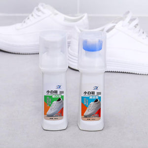 Detergent / Brightener Suits White Shoes, Leather Shoes, Sports Shoes Etc with Good Effect, Fast Cleaning,100ml Free Shipping