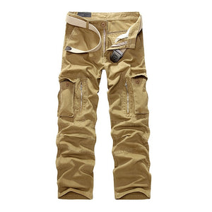 2019 New Military Cargo Pants Men Camouflage Tactical Casual Cotton Casual Trousers Men Pantalon Hombre