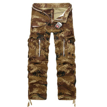 Load image into Gallery viewer, 2019 New Military Cargo Pants Men Camouflage Tactical Casual Cotton Casual Trousers Men Pantalon Hombre
