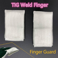 Load image into Gallery viewer, TIG Finger Welding Tips/Tricks TIG Finger Heat Shield Welding Gloves Heat Shield Finger Guards
