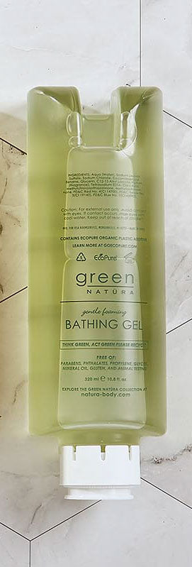 Green Natüra Bathing Gel Dispenser Refill (10.8 fl. oz.) (NGRN320-154-E)