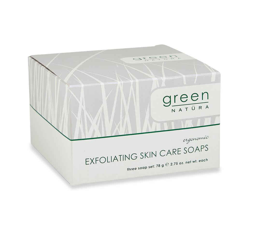 Green Natüra Oatmeal Soap Pack (2.5 oz. each) (NGRN-278)