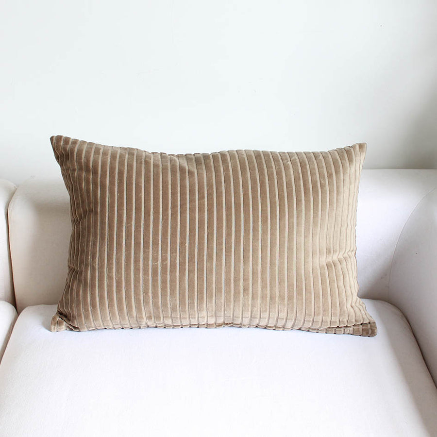 Sand Organic Cotton Cushion