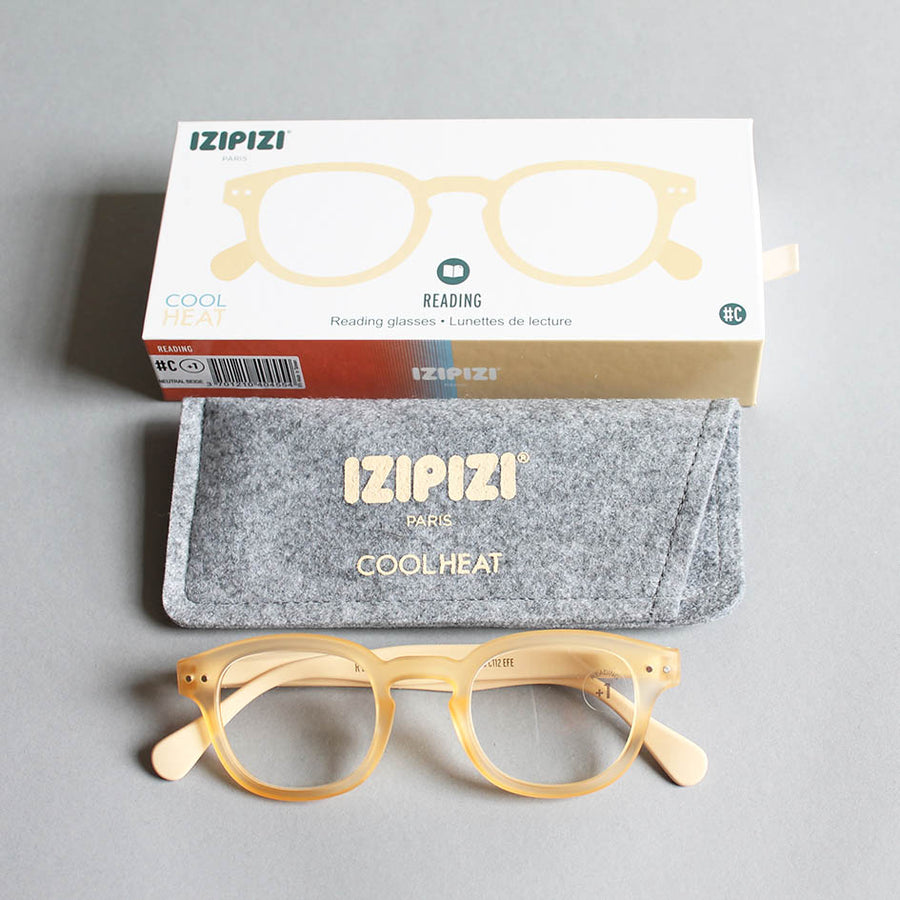 IZIPIZI Reading Glasses - Beige