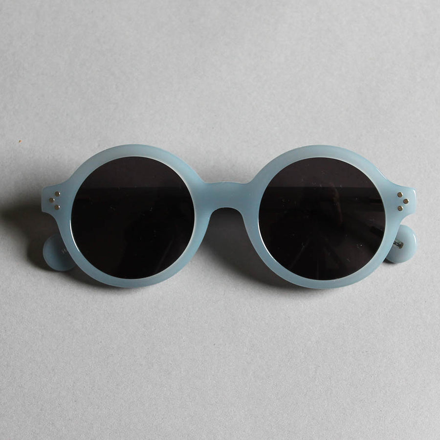 Frank + Lucie Round Sunglasses - Cloudy Blue