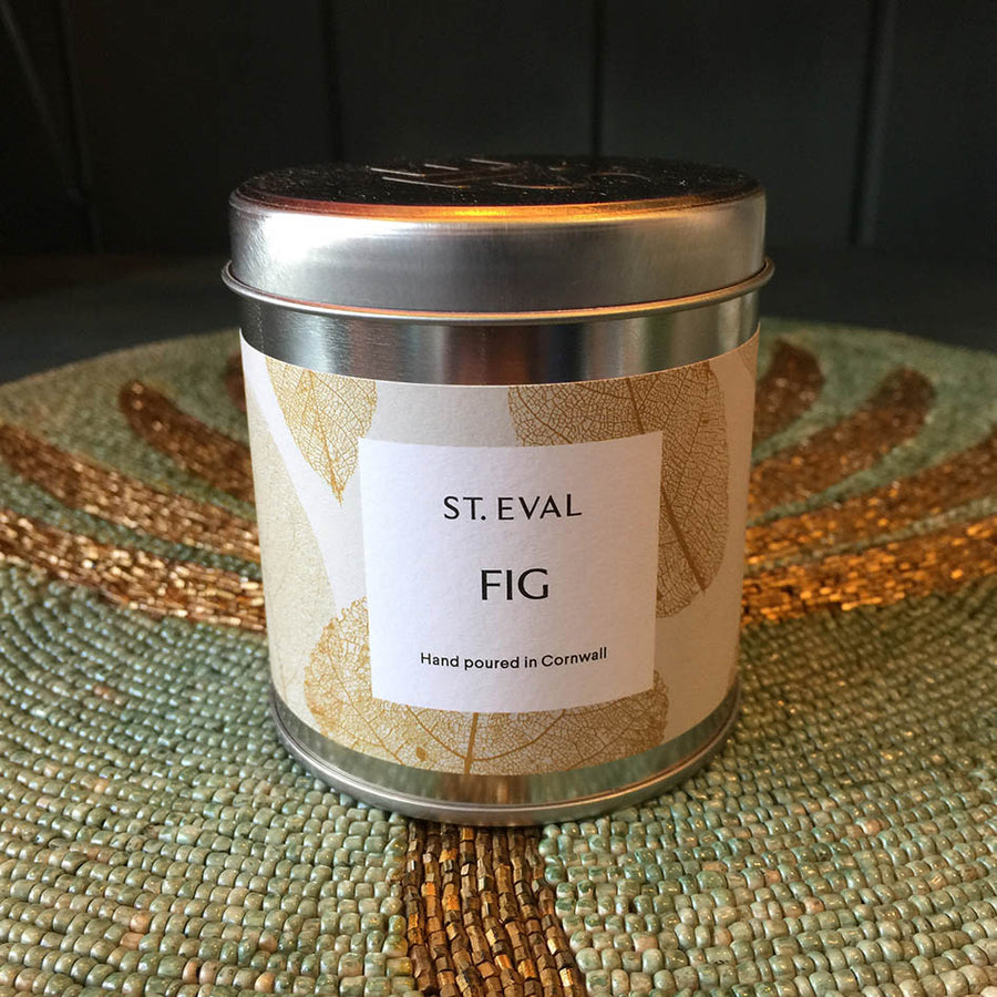 Fig Tin Candle