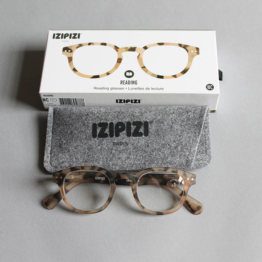 IZIPIZI Reading Glasses 'C' - Light Tortoise