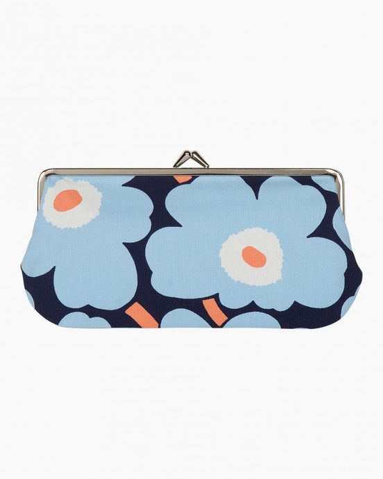 UNIKO MINI PURSE - Blue, White, Peach