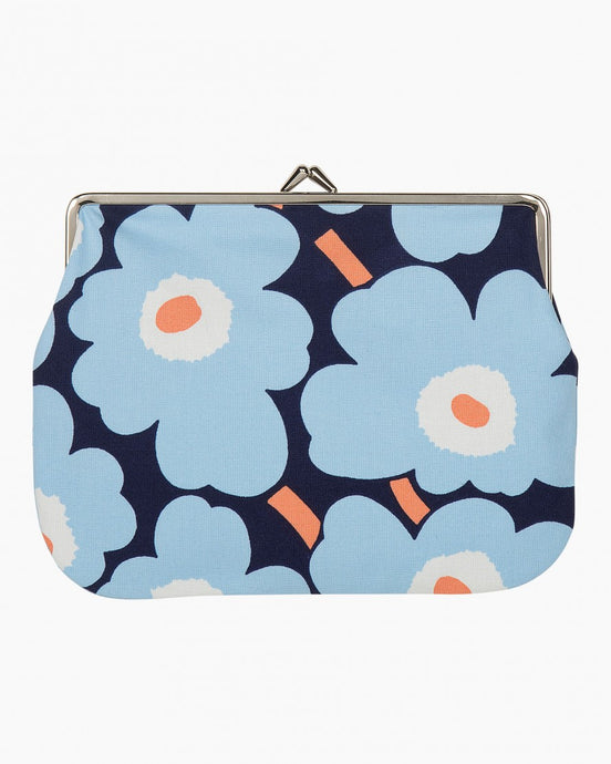 UNIKKO PURSE - Blue, White, Peach