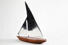 Load image into Gallery viewer, Teak and Steel Sailboat
