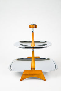 Two Tiered Serving Tray