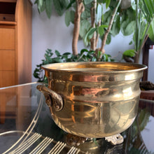 Load image into Gallery viewer, Vintage Brass Planter