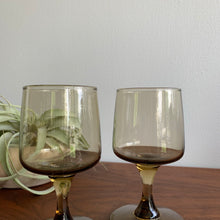 Load image into Gallery viewer, Pair of Vintage Smoked Glasses