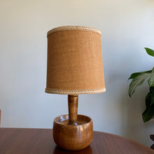 Load image into Gallery viewer, Vintage Wooden Lamp