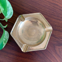 Load image into Gallery viewer, Vintage Solid Brass Ashtray