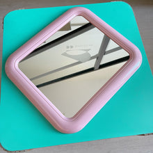 Load image into Gallery viewer, Vintage 80s InterDesign Pink Plastic Mirror