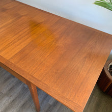 Load image into Gallery viewer, Vintage Extendable Teak Dining Table