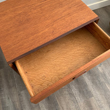 Load image into Gallery viewer, Vintage Teak Nightstand