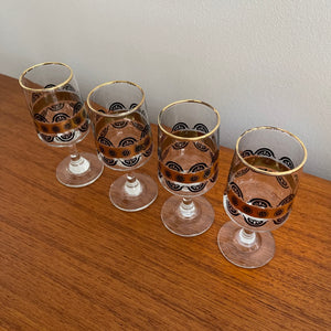 Set of 4 Cordial Glasses