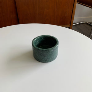 Vintage Decorative Green Marble Vase/Bowl