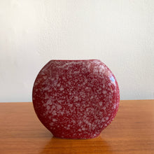Load image into Gallery viewer, Vintage 80s Round Ceramic Vase
