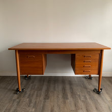 Load image into Gallery viewer, Danish Teak Desk