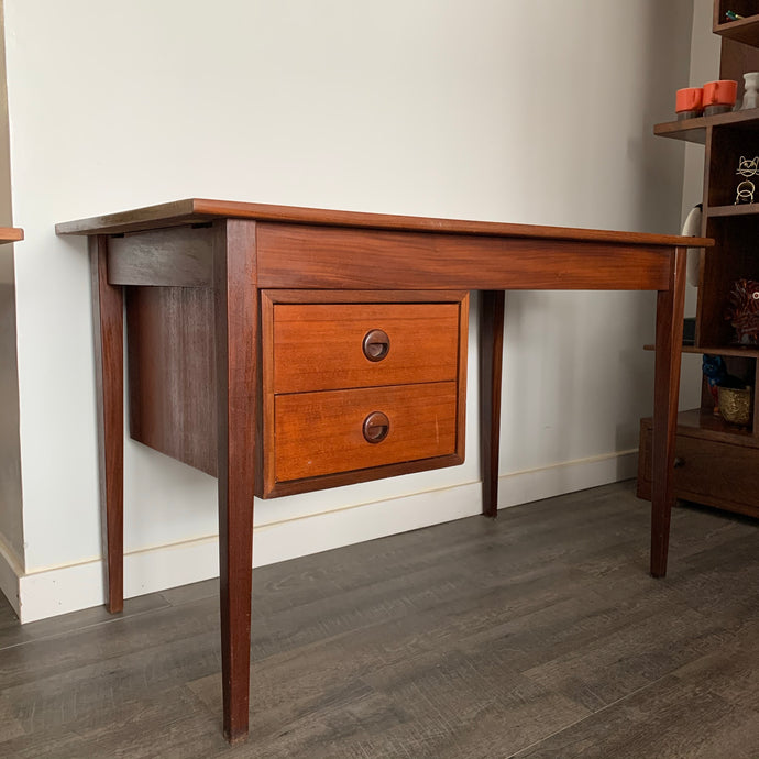 Mid Century Modern Teak Desk By Punch Design