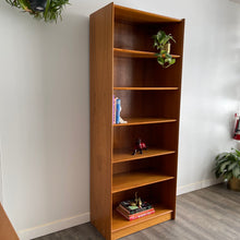Load image into Gallery viewer, Vintage Danish Teak Bookshelf by Dyrlund