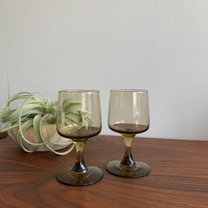 Pair of Vintage Smoked Glasses