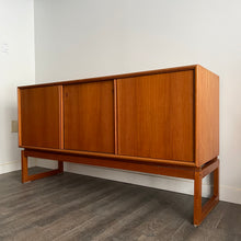 Load image into Gallery viewer, Vintage Teak Credenza by Axel Christiansen for ACO Mobler