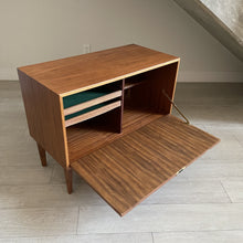 Load image into Gallery viewer, Vintage Walnut Bar Cabinet