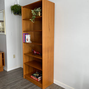 Vintage Danish Teak Bookshelf by Dyrlund