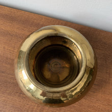 Load image into Gallery viewer, Vintage Brass Planter Pot
