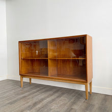 Load image into Gallery viewer, Vintage Teak Curio Cabinet/ Bookshelf by Punch Design Canada