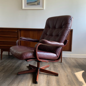 Vintage Bentwood Swivel Chair
