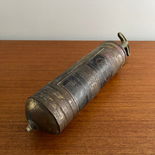 Load image into Gallery viewer, Vintage Brass Fire Extinguisher