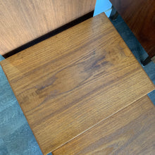 Load image into Gallery viewer, Mid Century Modern Teak Nesting Tables