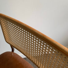 Load image into Gallery viewer, Vintage Cantilever Cane Back Chair