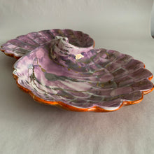 Load image into Gallery viewer, Vintage Double Shell Ceramic Dish