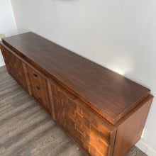 Load image into Gallery viewer, Vintage Sculptural Walnut Credenza/Sideboard