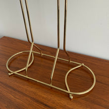 Load image into Gallery viewer, Vintage Brass Blanket Stand