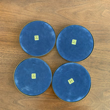 Load image into Gallery viewer, Set of 4 Vintage Brass Coasters